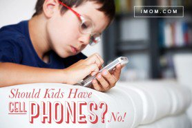 should kids have cell phones