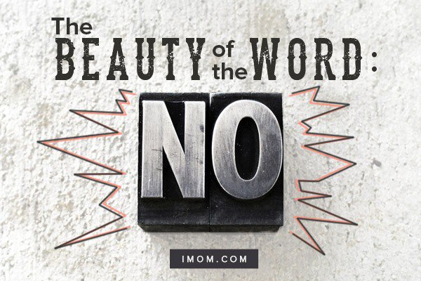 The Beauty of the Word No iMom