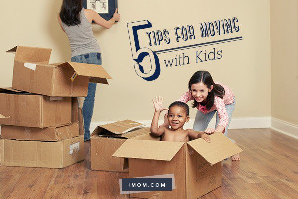 5 Tips for Moving with Kids iMom