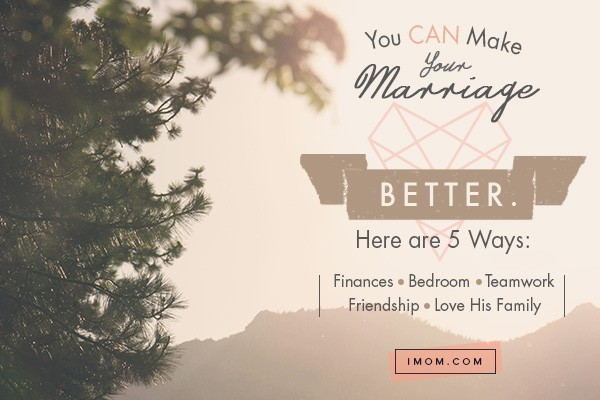tips for a better marriage