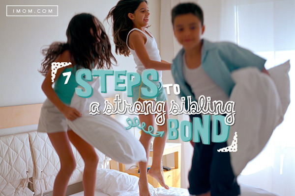 7 Steps To A Strong Sibling Bond Imom