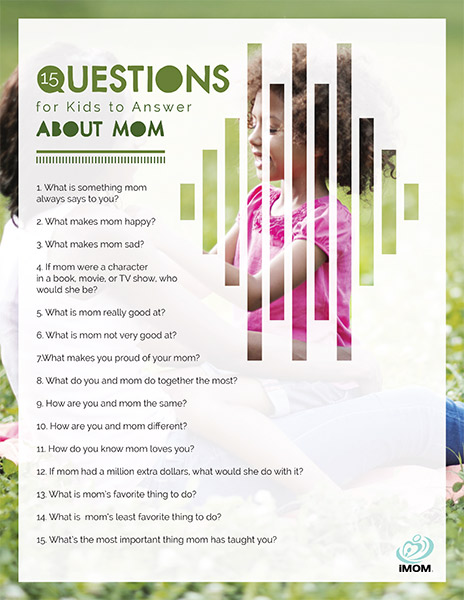 questions for kids to answer