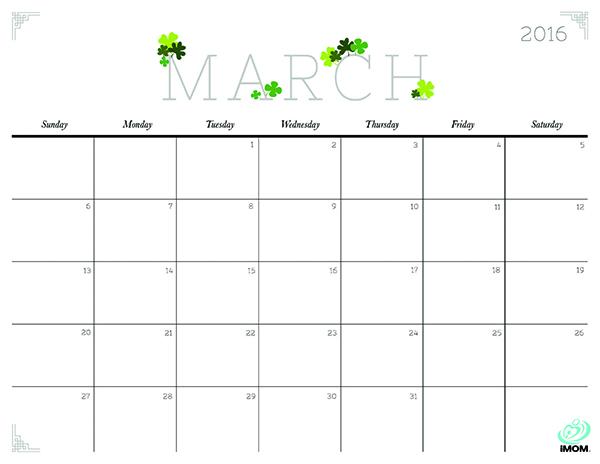 March 2015 Calendar Printable And Templates Free Calendar Printable ...