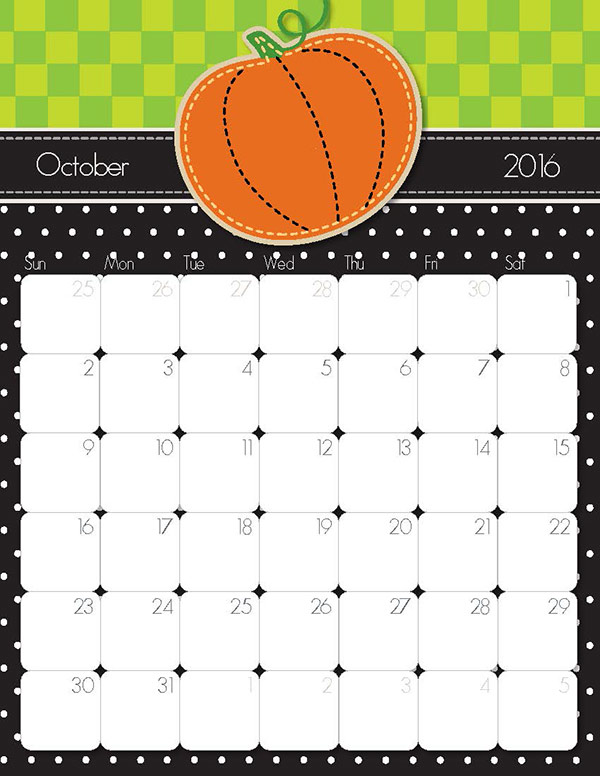 2016 Printable Monthly Calendar Two Months in addition Free Printable ...