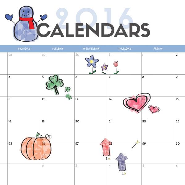 Calendar Pictures For Kids : Printable calendar for kids imom