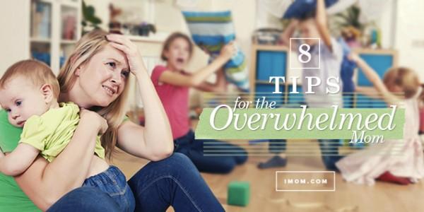 overwhelmed mom