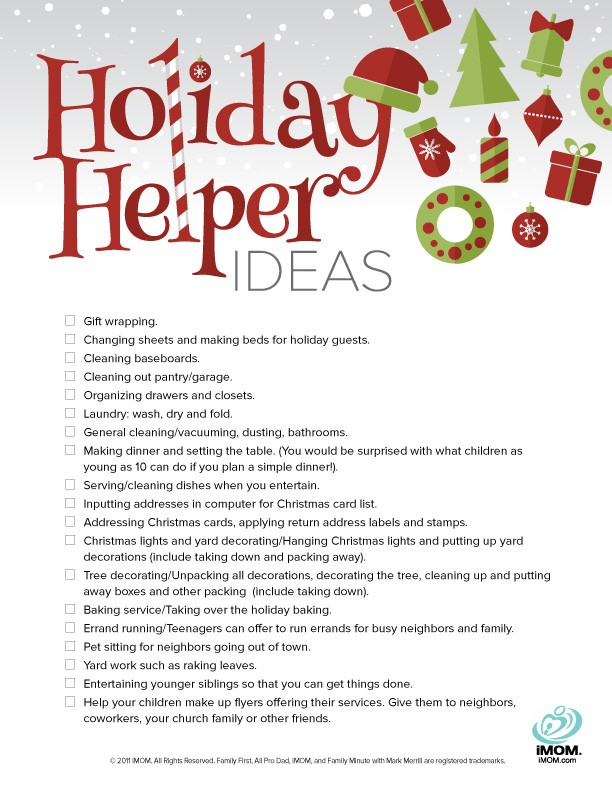holiday helper