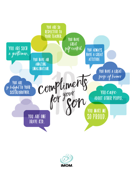 get closer to your son compliments for boys