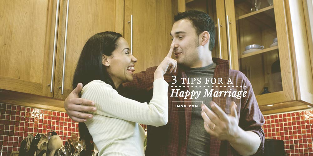 Tips for a happy marriage imom