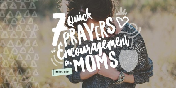 prayers of encouragement