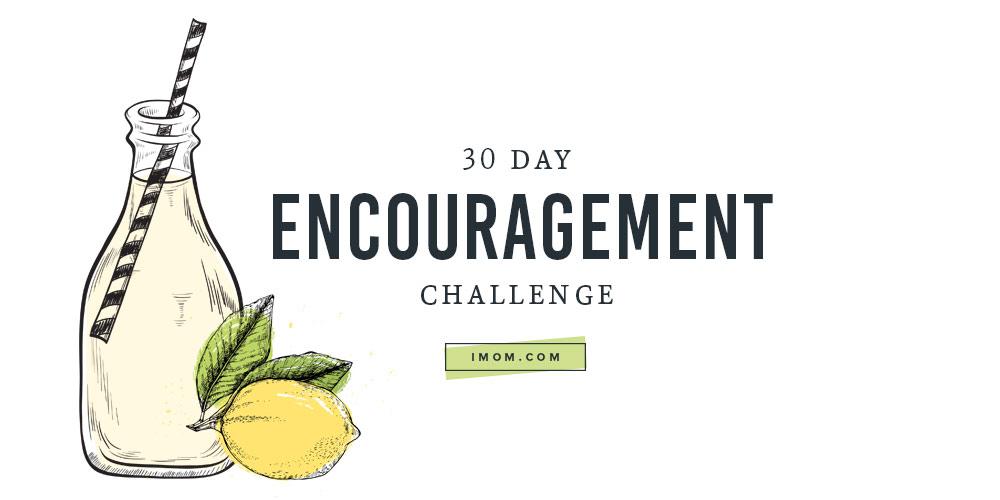 30 day encouragement challenge