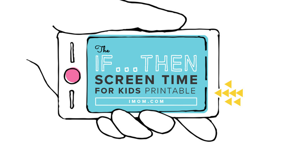 photograph about Printable Screen Time Charts referred to as Why On your own Should really Say Sure in the direction of Display Year - iMom