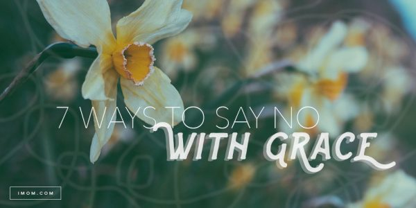 ways to say no