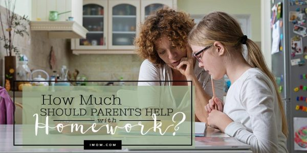 Should parents help high school students with homework