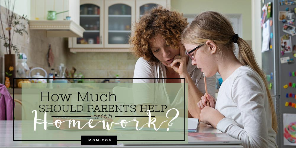 What Can Be Done To Help Parents Of >> How Much Should Parents Help With Homework Imom