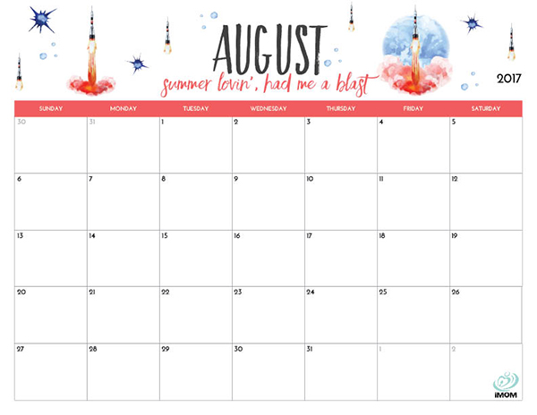 Calendar Ideas For July : Printable calendar for moms imom