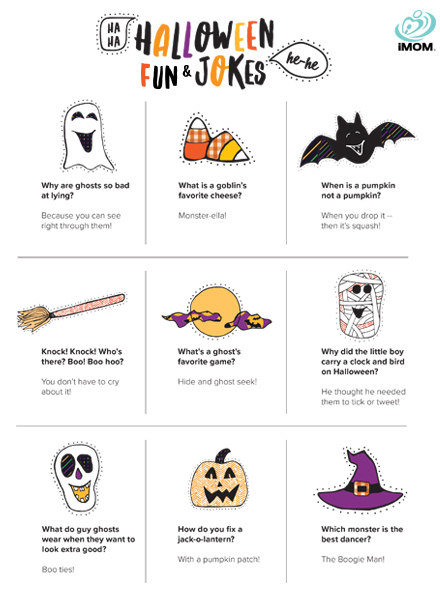 Halloween Fun and Jokes iMom