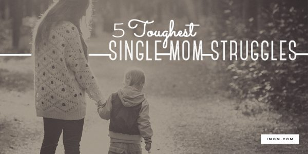 single mom struggles
