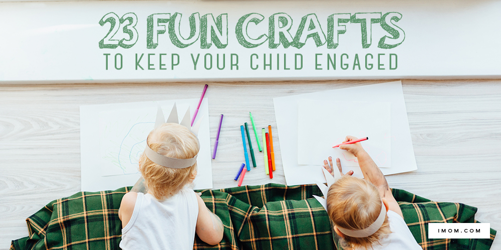 image regarding Imom Com known as 23 Exciting Crafts toward Continue to keep Your Youngster Engaged - iMom