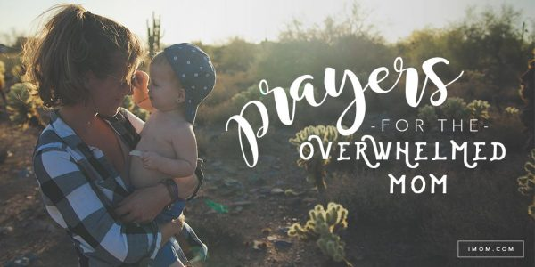 prayer for feeling overwhelmed