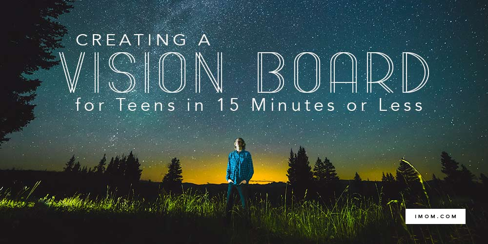 Creating a Vision Board for Teens