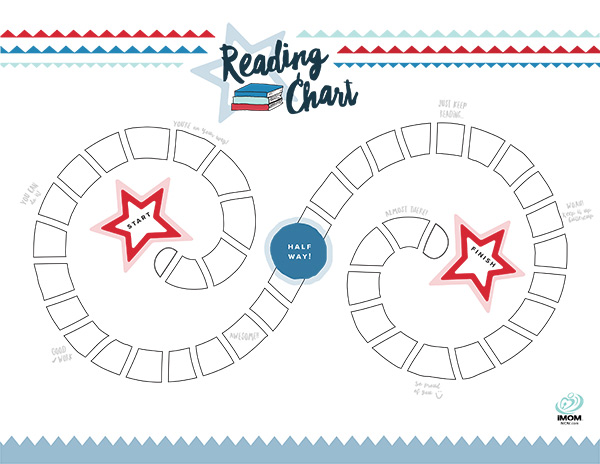photo about Printable Reading Charts known as Studying Chart - iMom