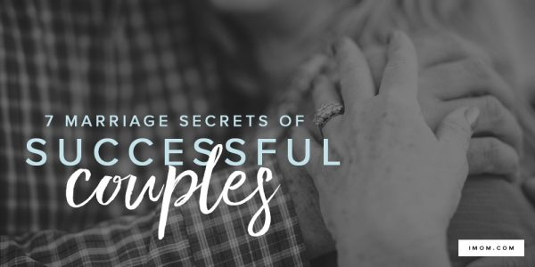 secrets of a successful marriage