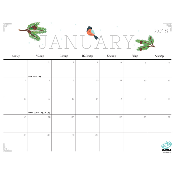 2018 calendar cute crafty 600