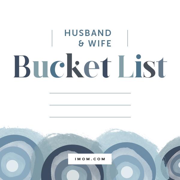 Husband and Wife Bucket List