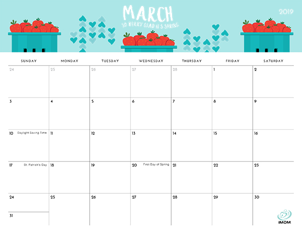 The Foodie Collection 2019 Calendar Imom