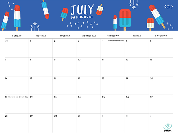 The Foodie Collection 2019 Calendar - iMom
