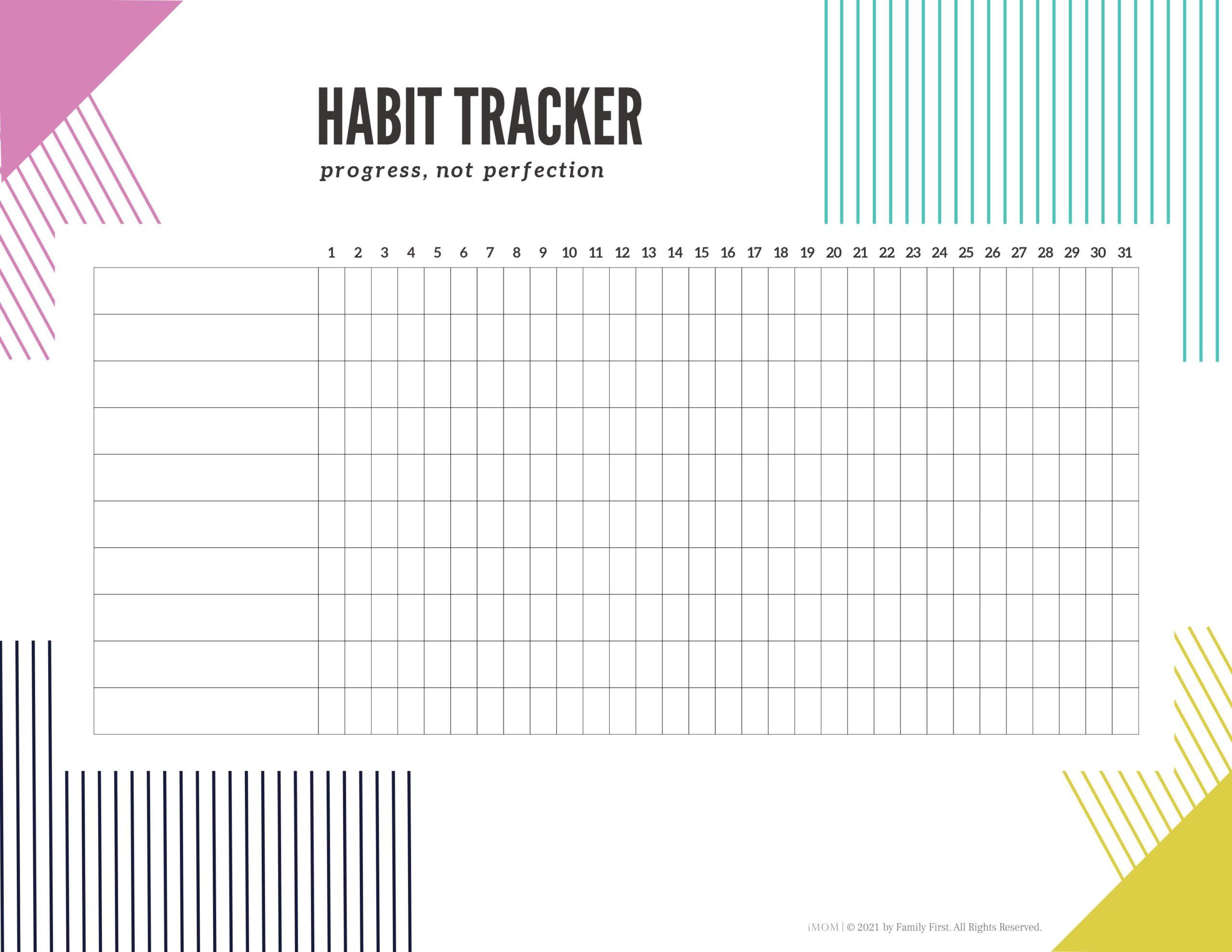 Geometric Habit Tracker