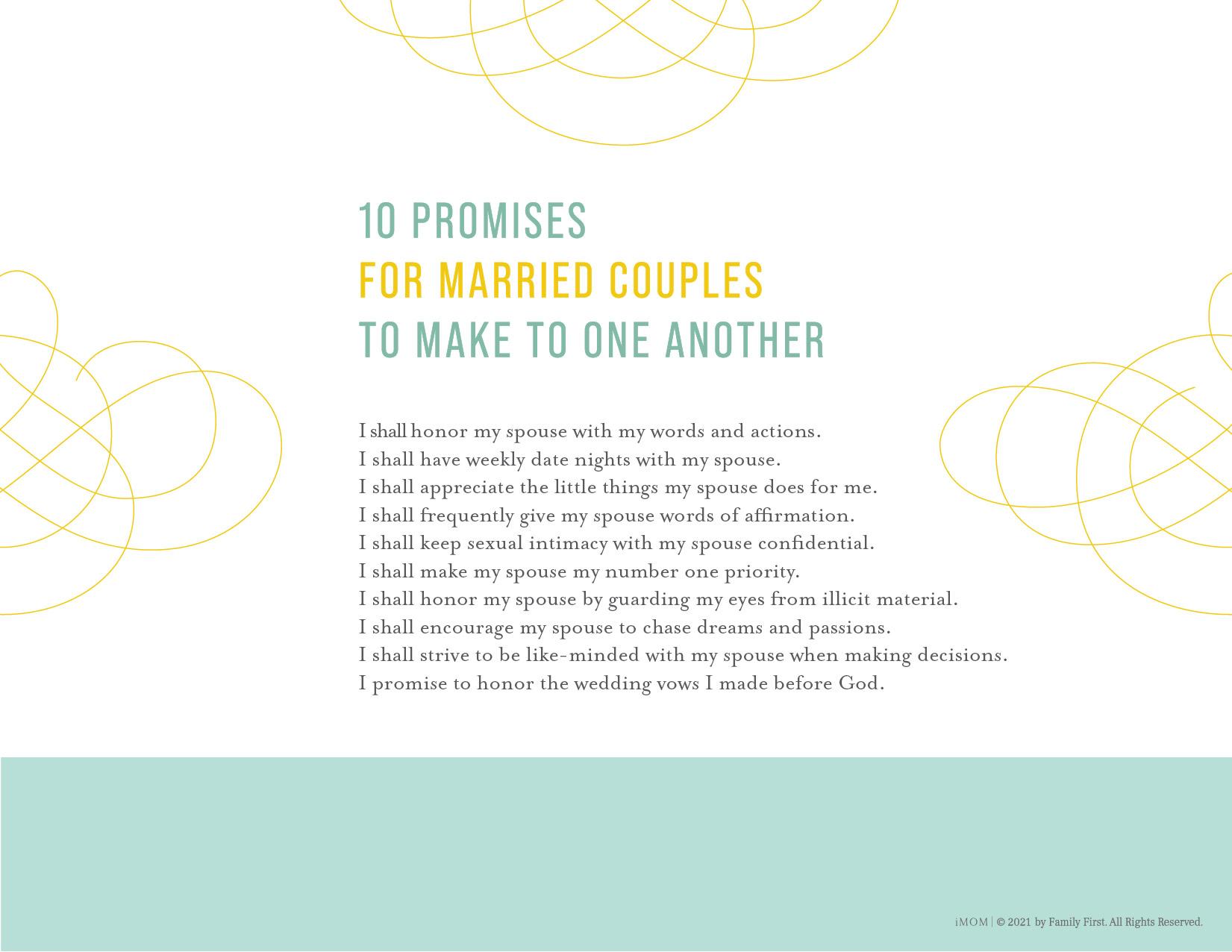 marriage promises