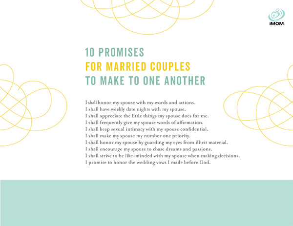 marriage promises