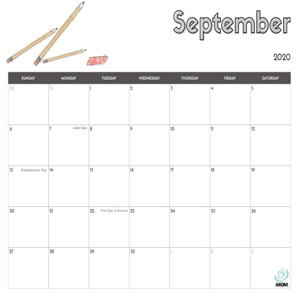 2020 And 2021 Printable Calendars For Kids Imom