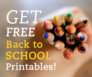 Get Free Back to School Printables!