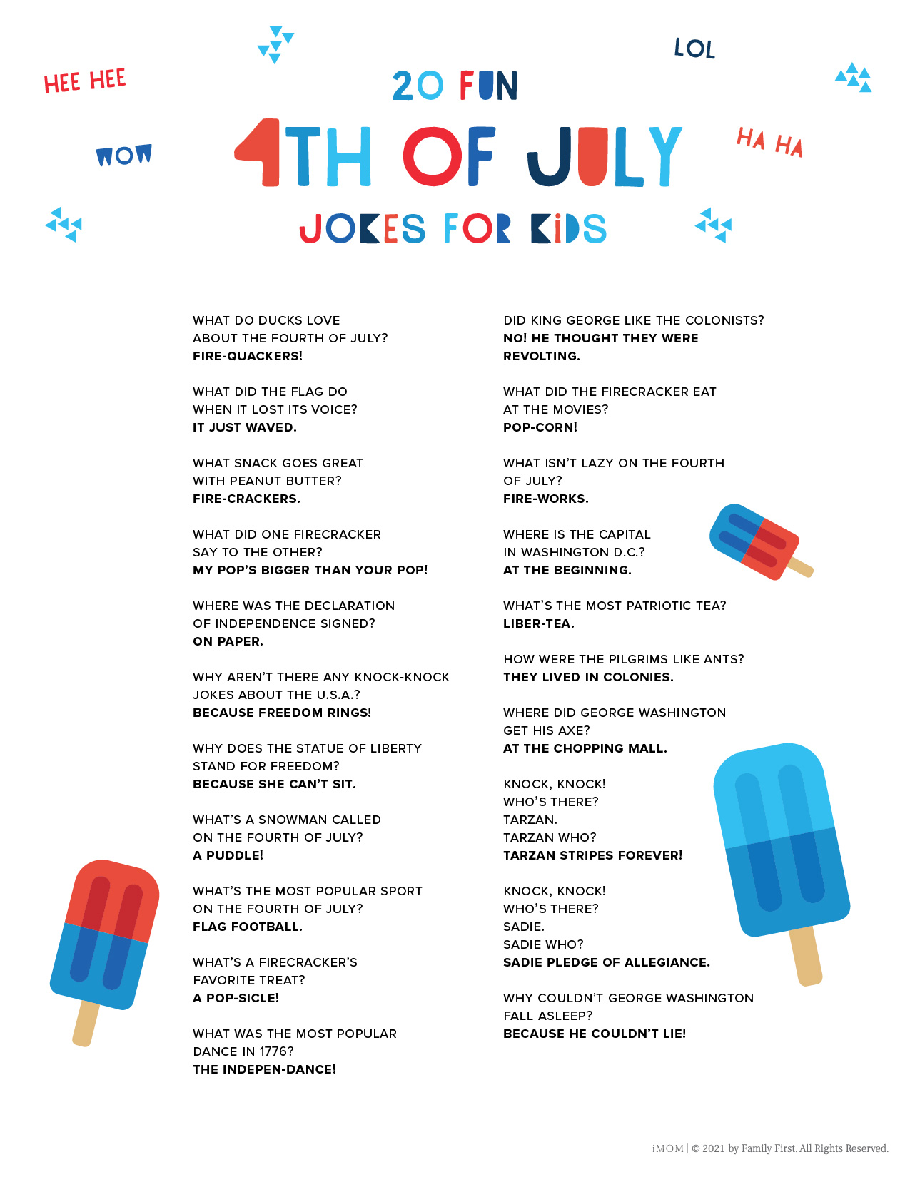4th of July Jokes