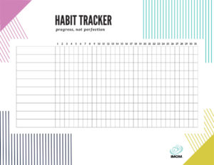 how to make your child mentally strong habit tracker