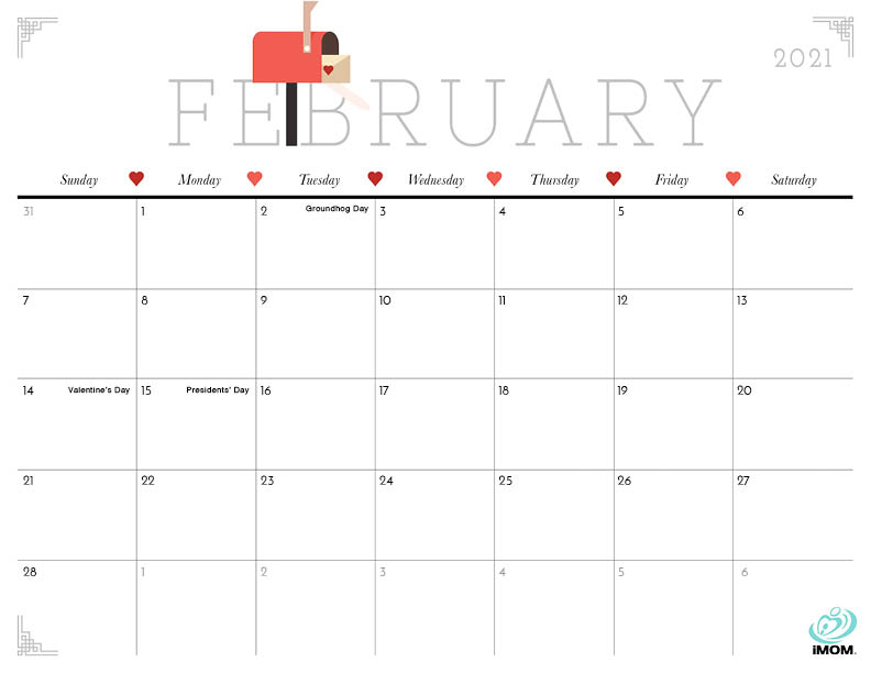 2021 Cute Printable Calendars For Moms Imom Choose your sunday or monday start calendar and start planning an awesome year. 2021 cute printable calendars for moms