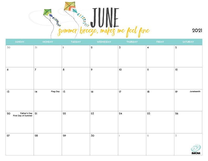 2021 Printable Calendars for Moms   iMom