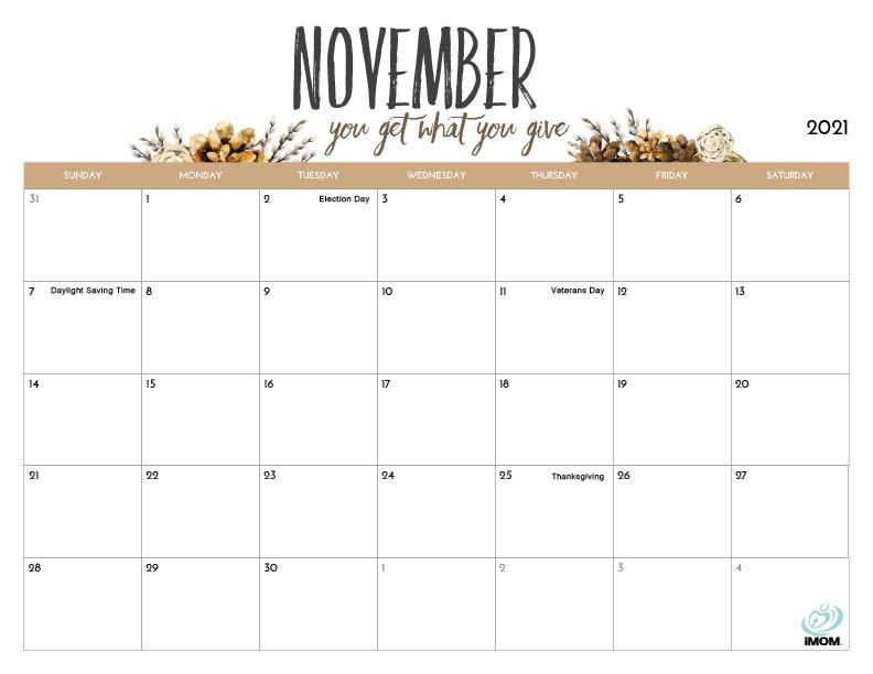Time And Date Calendar 2021 Printable - Holidays And ...