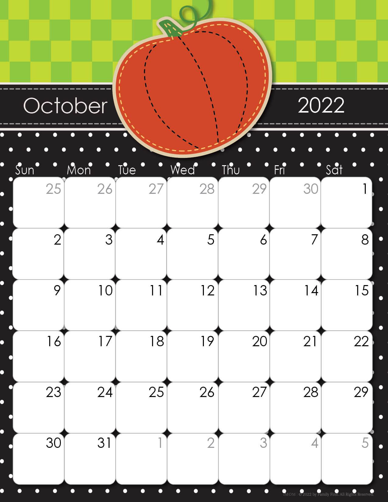 w2022 himsical printable calendar